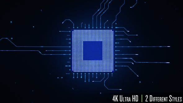 Thumbnail for Motherboard CPU Circuits 4k