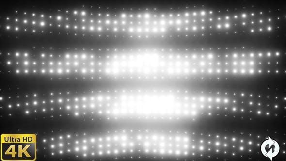 Thumbnail for Wall of Lights White - VJ Loop