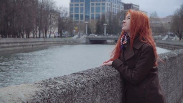 Thumbnail for Sad Lonely Ginger Woman