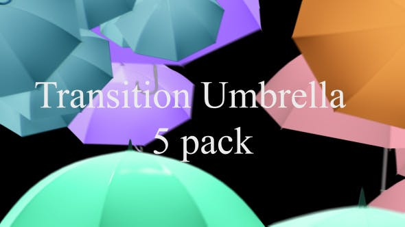 Thumbnail for Umbrella Colorful Transition