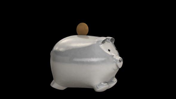 Thumbnail for Metal Piggy Bank