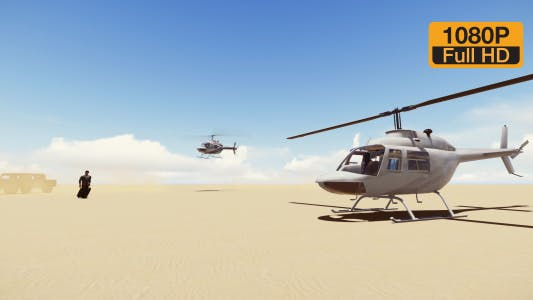 Thumbnail for Descent helicopter