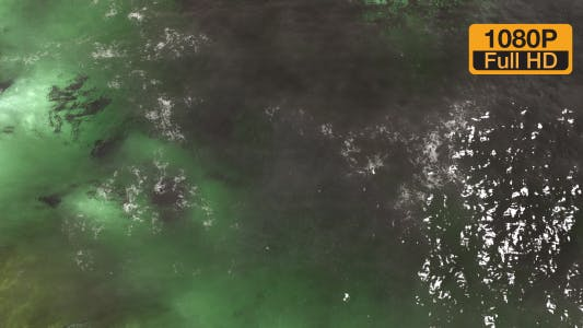 Thumbnail for Light colored wavy water surface