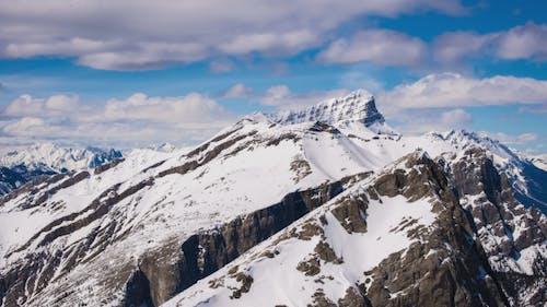 Wanderer Gipfelberg aus der Ferne