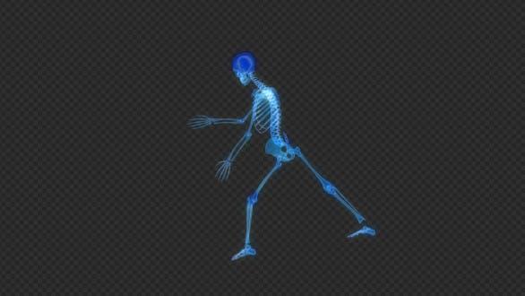 Thumbnail for Skeleton Dancing Hologram Hud Ui Loop