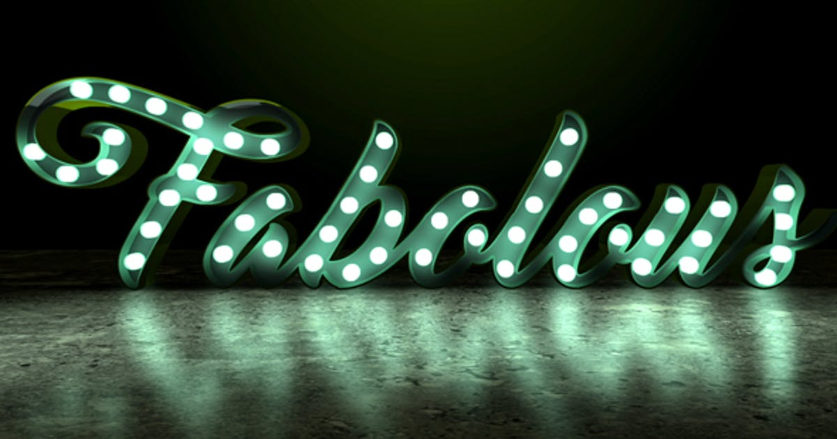 Light Bulb Sign by marcobelli