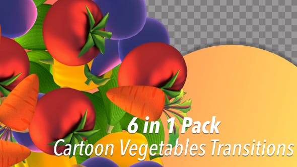 Thumbnail for Cartoon Vegetables Transitions