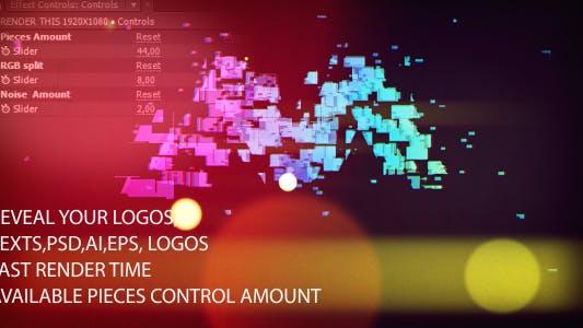 Thumbnail for Colorful Light Logo Reveal