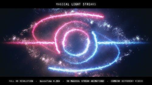 Magical Light Streaks