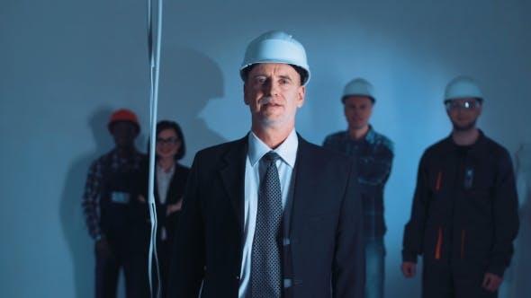 Thumbnail for The Businessman Opposite Builder Team