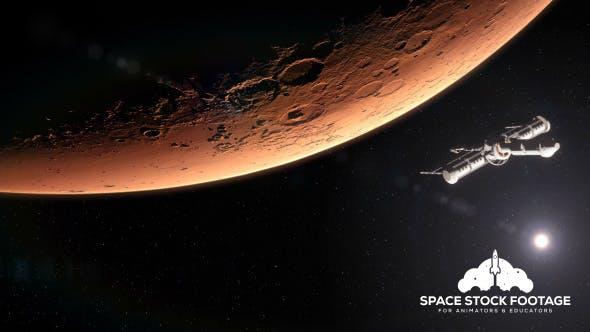 Thumbnail for Spaceship Leaving Mars