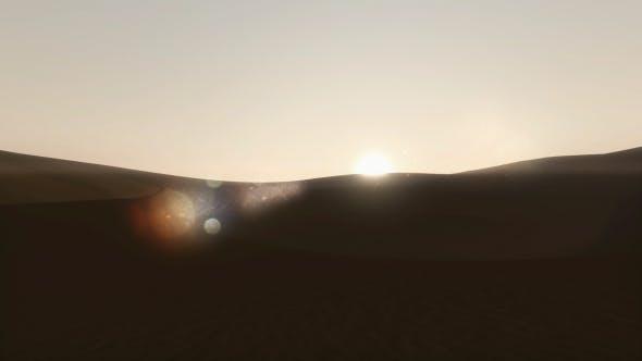 Thumbnail for Sunrise in Desert