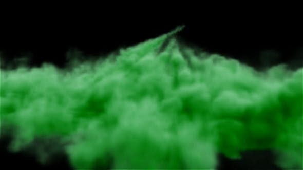 Volumetric Green Smoke