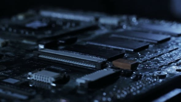 Thumbnail for Sliding Video of Pc Motherboard