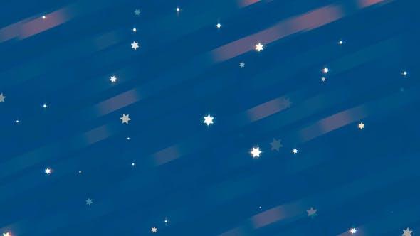 Thumbnail for Cartoon Stars Background