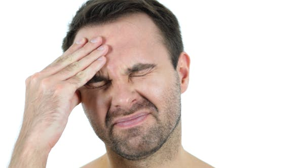 Thumbnail for Headache, Frustrated Middle Aged Man Face