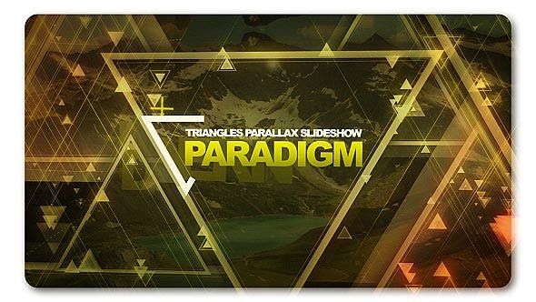 Paradigm Triangles Parallax Slideshow