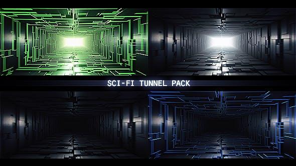 Thumbnail for Sci-Fi Tunnel Pack