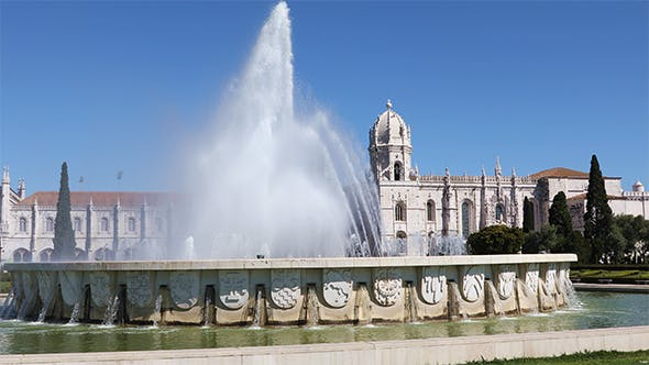 Hieronymites Monastery Located in Lisbon, Portugal