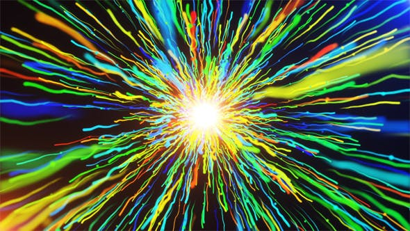 Cover Image for Colorful Lines Moving