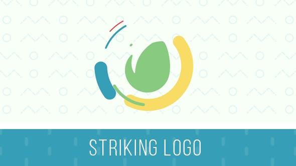 Striking Logo Intro