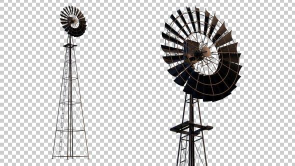 Thumbnail for Farm Windmill
