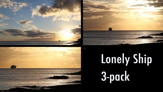 Thumbnail for Lonely Ship (3-Pack)