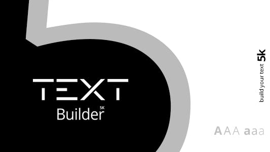 Thumbnail for Text Builder | Ultimate Options