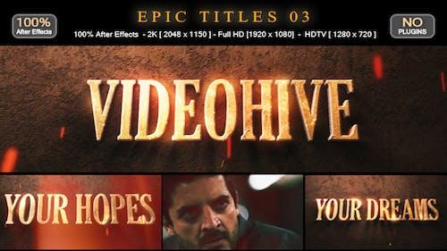 Epic Titles 03