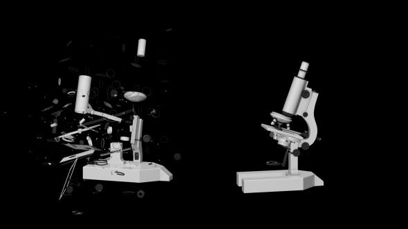 Thumbnail for 3D Microscope Transforming
