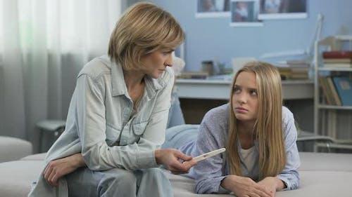 Adolescent Pregnancy, Teenager Needs Parents Support, Lack of Understanding