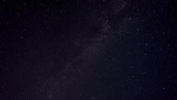 Night starry sky with the Milky Way