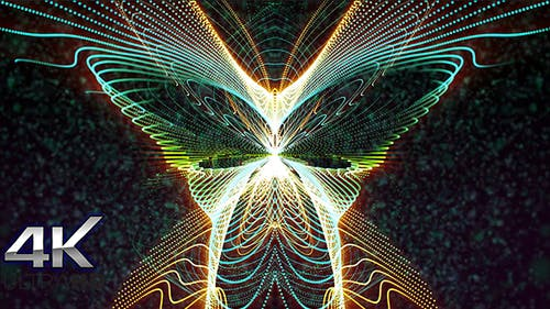Bufferfly Particles ( Ultra HD )