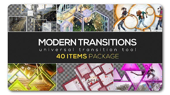 Thumbnail for Pack Transition moderne | 40 articles
