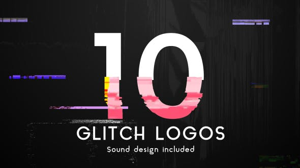Thumbnail for Glitch Logo Pack