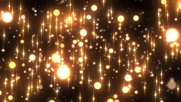 Thumbnail for Gold Rain Glitter