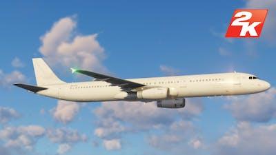 Airplane daytime