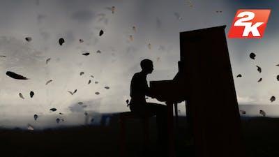 Man Piano Playing