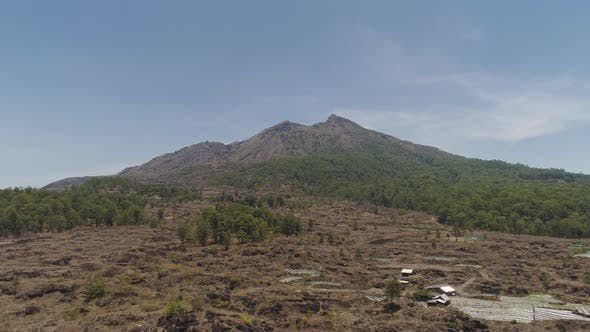 Thumbnail for Mountain Landscape with Volcano Batur