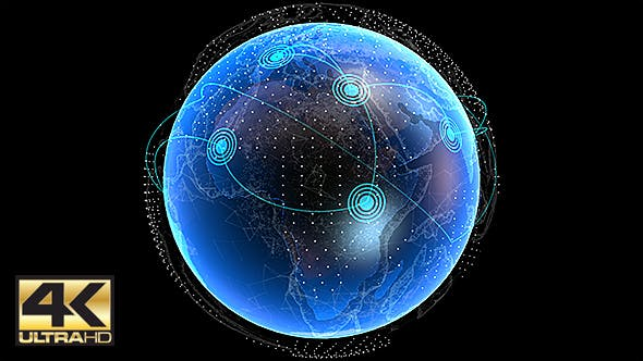 Cover Image for Global Network Connection 4K