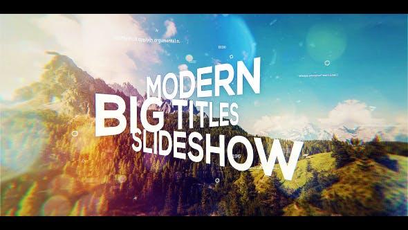 Thumbnail for Big Titles Slideshow