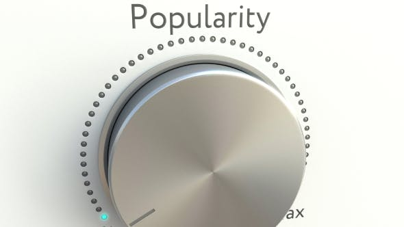 Thumbnail for Rotating Knob with Popularity Inscription