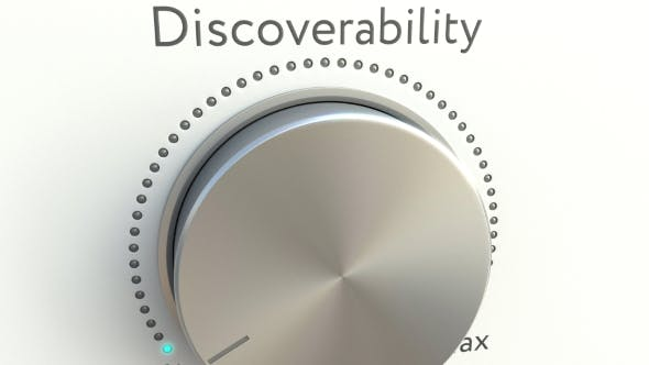 Thumbnail for Rotating Knob with Discoverability Inscription