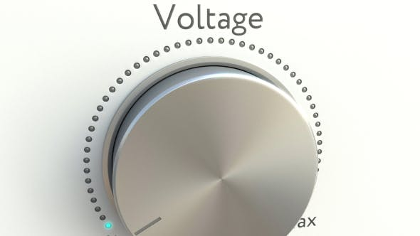 Thumbnail for Rotating Knob with Voltage Inscription