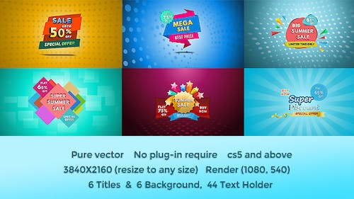 Discount Offer Banner Title