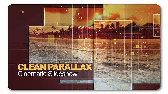 Thumbnail for Clean Parallax Cinematic Slideshow
