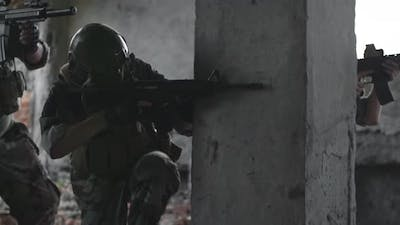 Snipers on Military Operation