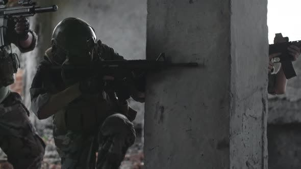 Thumbnail for Snipers on Military Operation