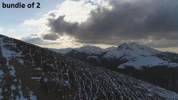 Thumbnail for Mountain Traveler in Winter