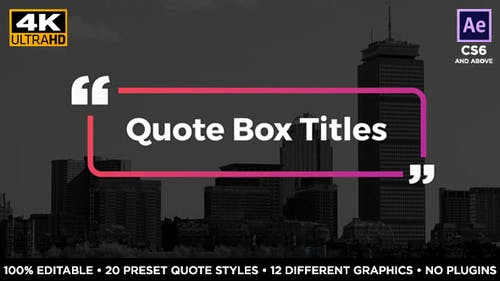 Quote Box Titles